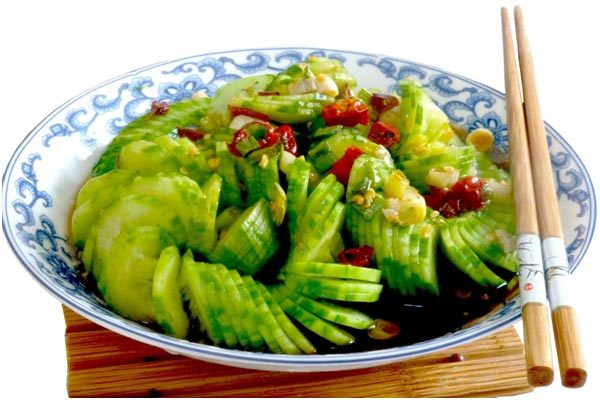 Chinese Pickled Cucumber