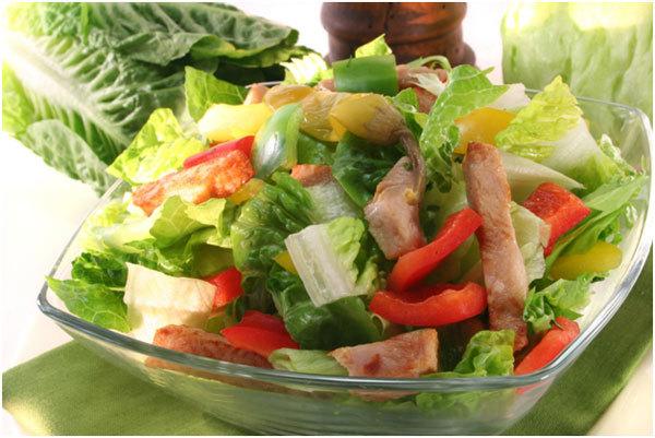 Cobb Style Turkey Salad