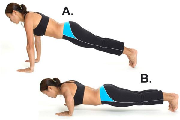 Basic Push Up - Best Stomach Workout