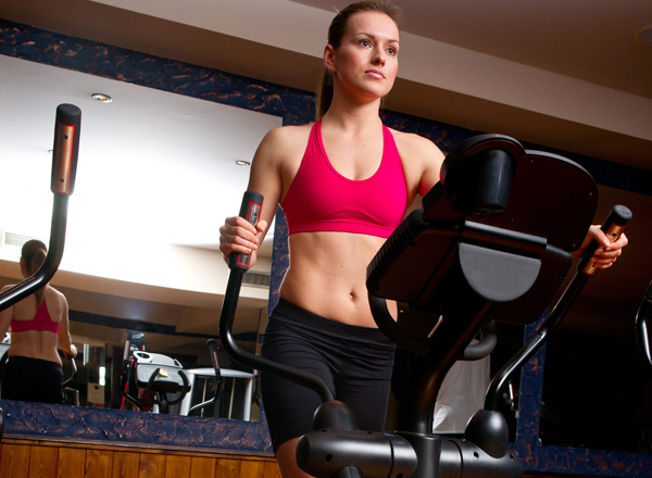 Exercises For Toned Buttocks - Elliptical Machine