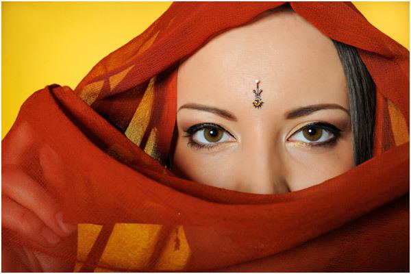 Forehead Bindi
