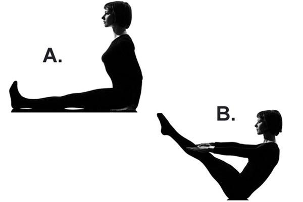 V Sit Up- Best Flat Stomach Exercises