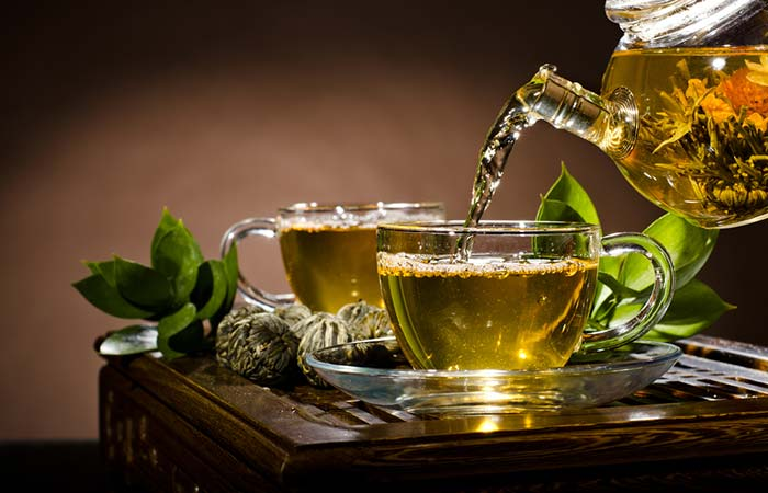 How To Get Rid Of Red Eyes - Green Tea