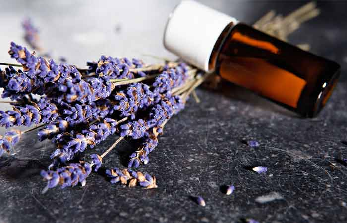How To Get Rid Of Red Eyes - Lavender Oil