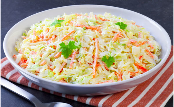 Summer Salads Recipes – Low-Fat Coleslaw