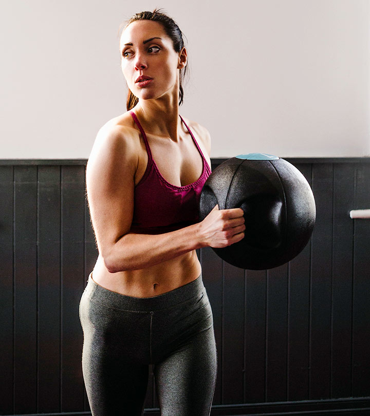 Medicine Ball Slam Workout - How To Do It & What Are Its