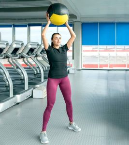 How To Do Medicine Ball Slams – Muscles It Works & Benefits