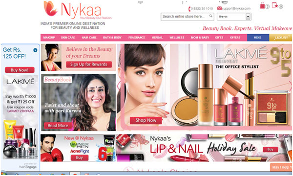 best online makeup sites