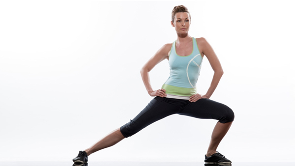 Exercises For Toned Buttocks - Side Lunges