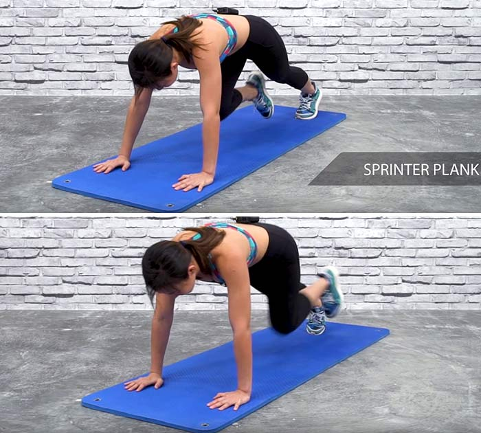 Sprinter Plank