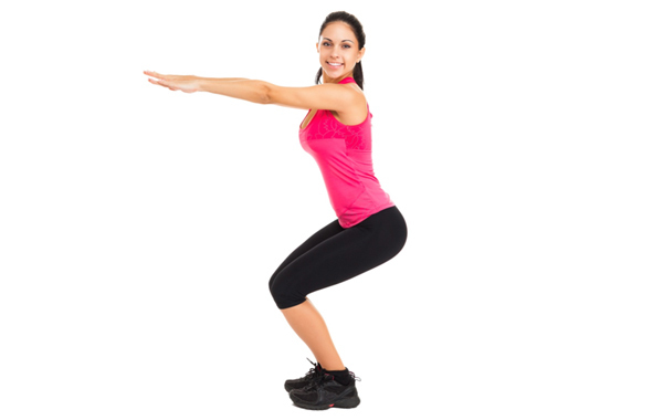 Exercises For Toned Buttocks - Squats