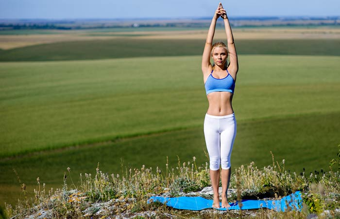 Improve Blood Circulation - Tadasana (Mountain Pose)