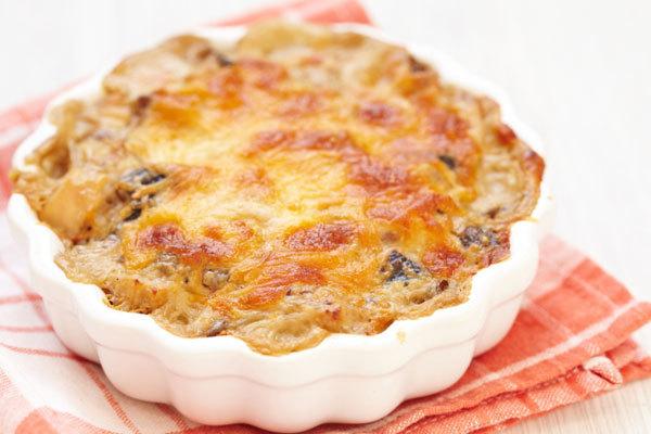 Mushroom Recipes - Baked Mushroom Chicken