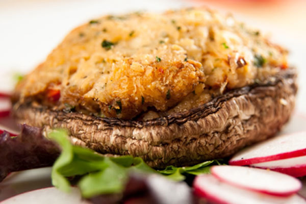 Mushroom Recipes - Crab Stuffed Mushrooms
