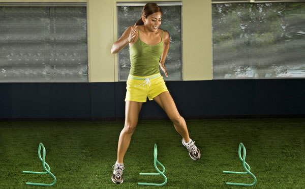 lateral side jumps