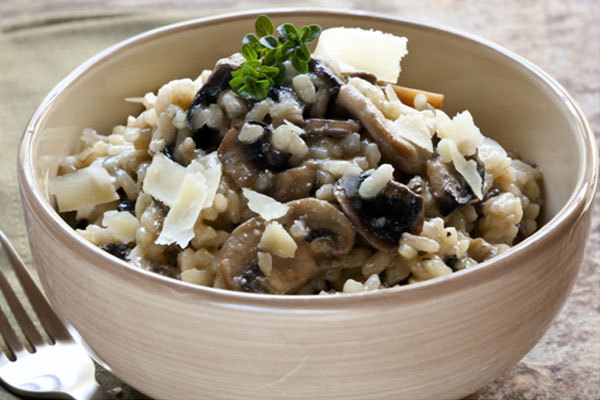 Mushroom Recipes - Mushroom Risotto