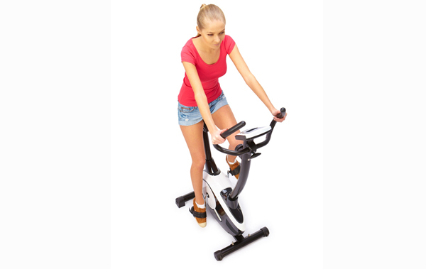 the exercise bicycle