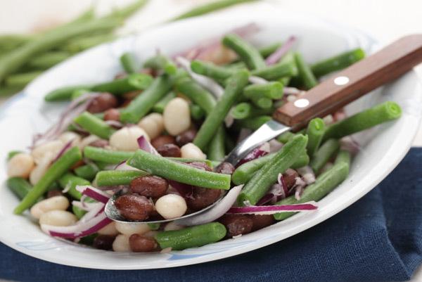 three bean salads