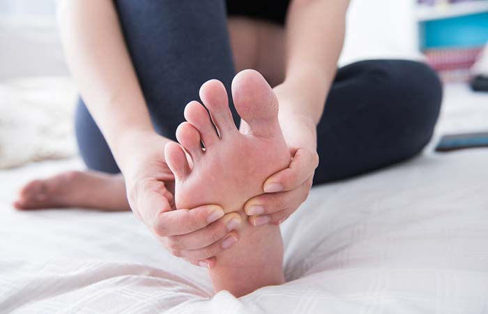 Get Rid Of A Charley Horse - Foot Massage