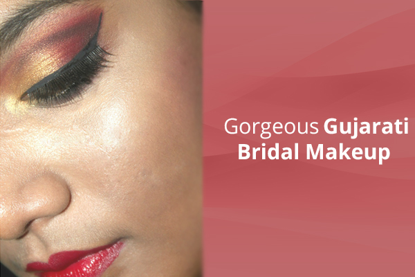 Gujarati Bridal Makeup - Final Look