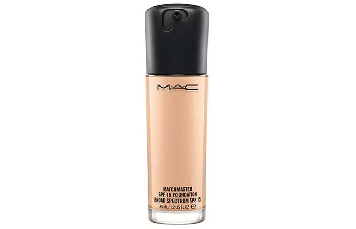 10. MAC Matchmaster SPF 15 Foundation - Best MAC Foundation
