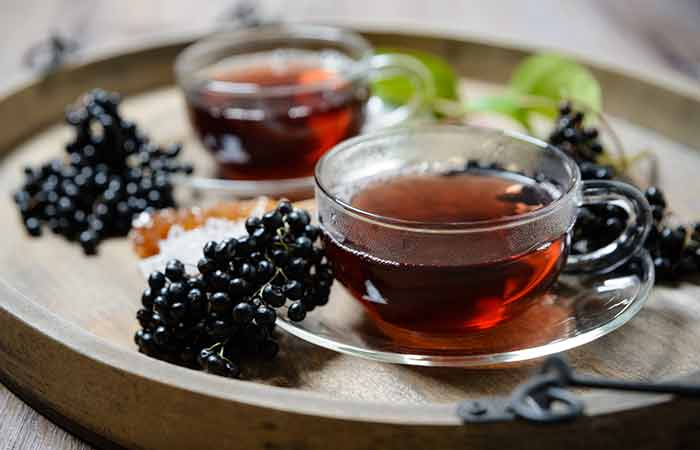 12. Elderberries Juice