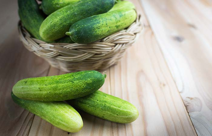 2. Cucumber For Sore Eyes