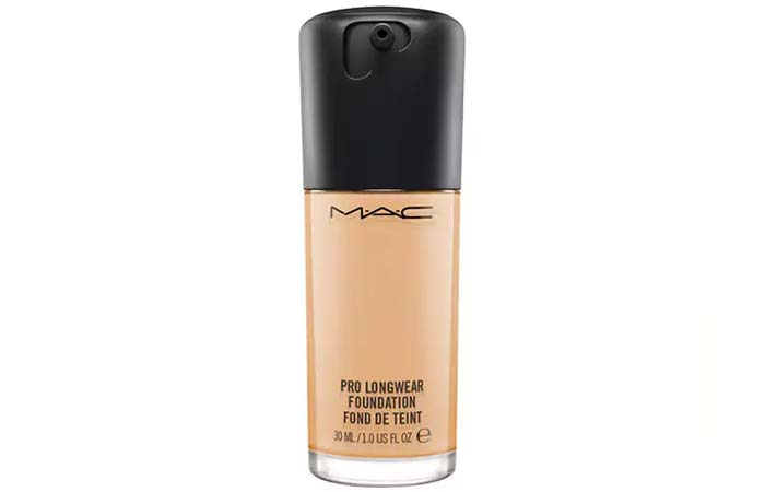2. MAC Pro Longwear Foundation - Best MAC Foundation
