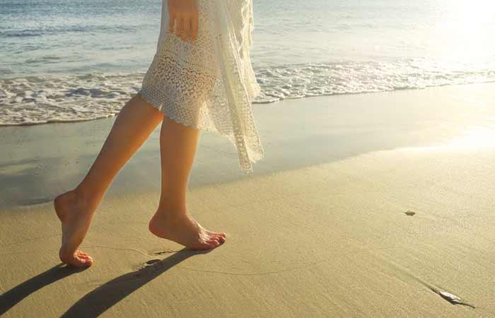 nervous weakness - Walking Barefoot