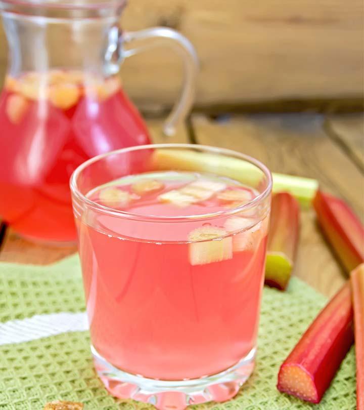 13 Amazing Health Benefits Of Rhubarb Juice