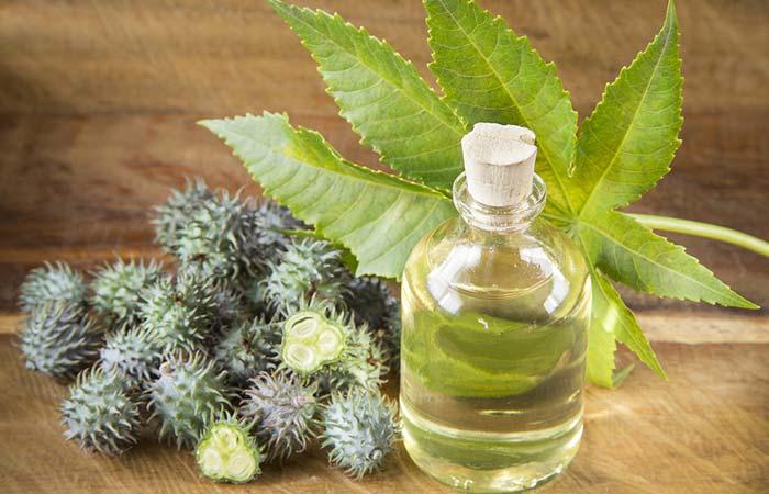 4. Castor Oil For Sore Eyes