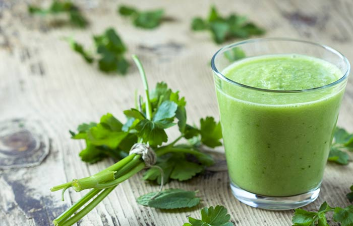 Lose Weight Naturally - Parsley Juice
