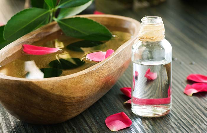 5. Rose Water For Sore Eyes