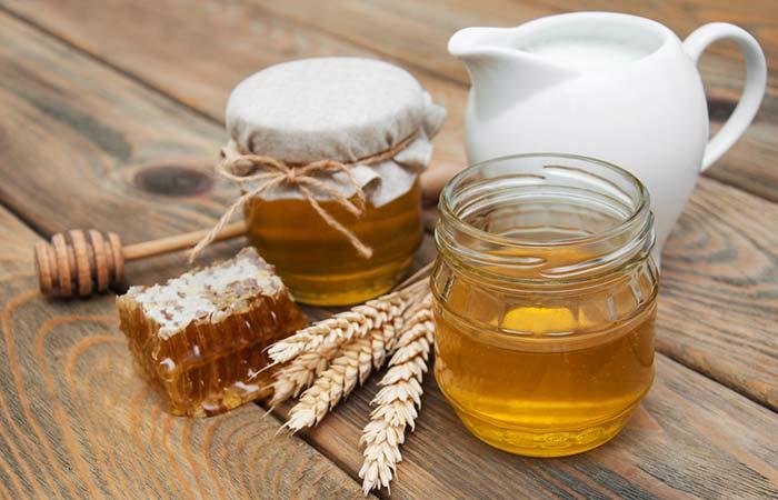 7. Milk And Honey For Sore Eyes