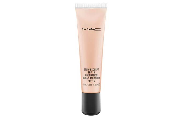 8. MAC Studio Sculpt SPF 15 Foundation - Best MAC Foundation