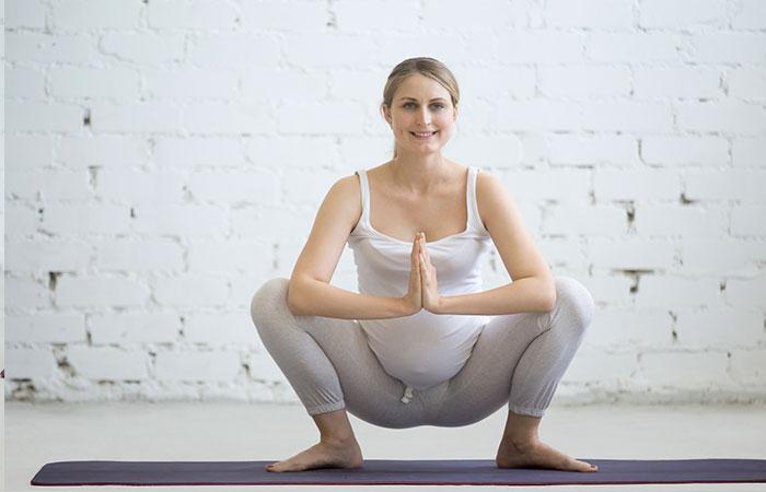 Malasana - Prenatal Yoga