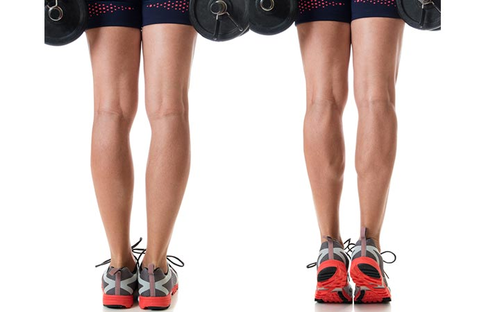 Calf Raises - How To Get Rid Of Cankles