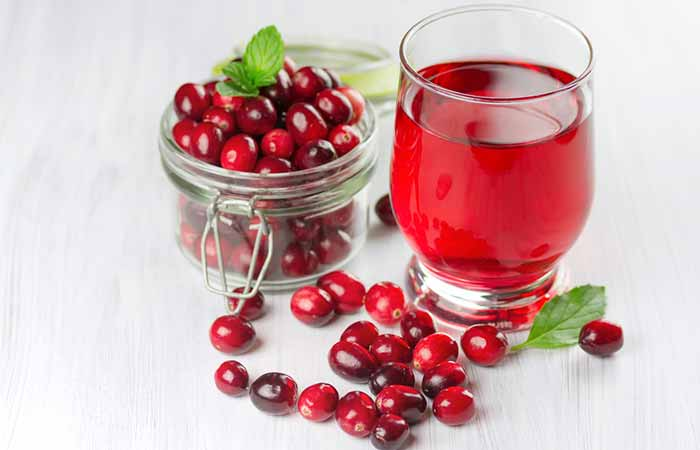 Stomach Ulcers - Cranberry Juice