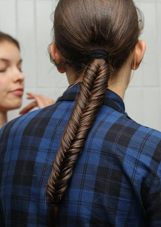 High-Fishtail-Braid-with-Hair-Wrap