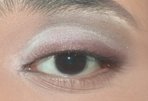 Step 3: Apply a Soft Shimmery Medium Brown Shade to the Upper Lash Line