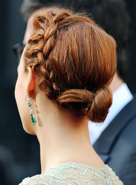 Low-Twisted-Side-Bun-with-Side-Braid