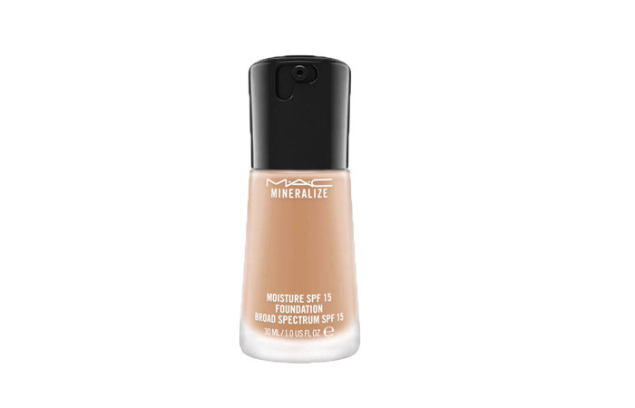7. MAC Mineralize Moisture SPF 15 Foundation - Best MAC Foundation