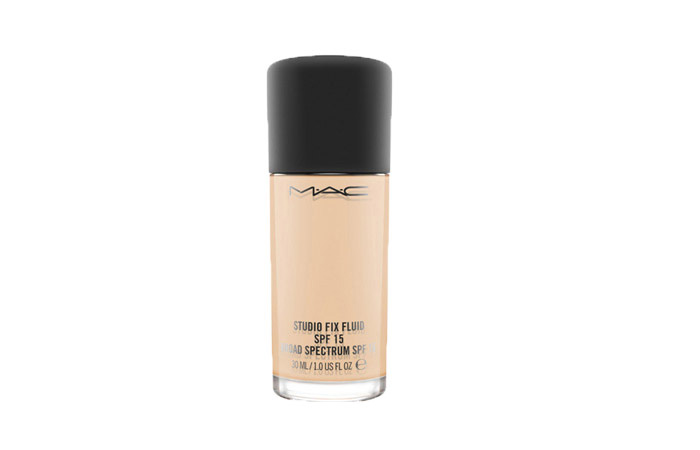 5. MAC Studio Fix Fluid SPF 15 Foundation - Best MAC Foundations