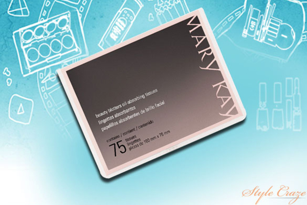 mary kay beauty blotters oil absorbing sheet