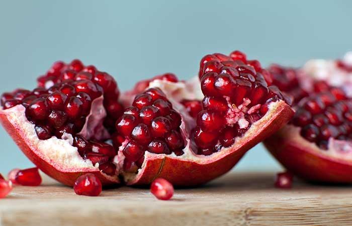 Pomegranate-Rind