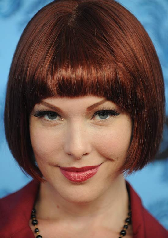 Reddish-Brown-Bob