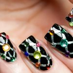 Stunning-Rhinestone-Nail-Art-Designs-To-Try-Out