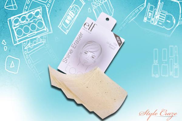 e.l.f. essential shine eraser
