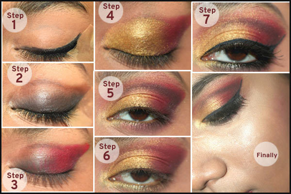 Bridal Makeup Step By Step Language : Gorgeous Gujarati Bridal Makeup Tutorial Step By Step ...