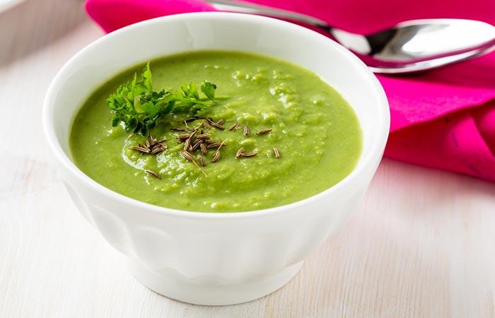 1. Bitter Gourd Or Karela Juice Veggie Soup